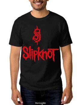 Rock t-shirt με στάμπα Slipknot