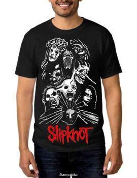 Rock t-shirt με στάμπα Slipknot Prepare for Hell