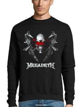 Μπλούζα Φούτερ με στάμπα Megadeth Blood Of Heroes