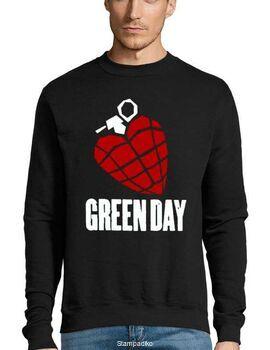 Μπλούζα Φούτερ με στάμπα Green Day American Idiot