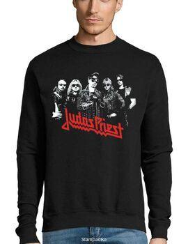 Μπλούζα Φούτερ με στάμπα Judas Priest