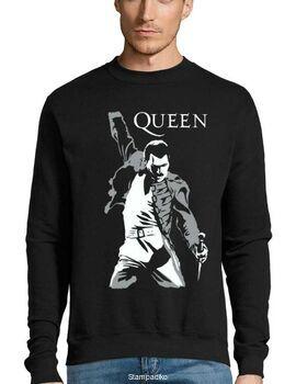 Μπλούζα Φούτερ Sweatshirt Rock Queen Freddie Mercury