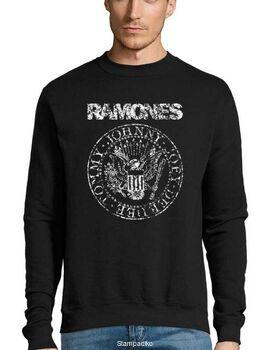 Μπλούζα Φούτερ με στάμπα Ramones Vintage Eagle Seal