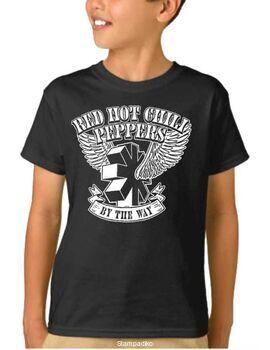 Παιδικό μπλουζάκι με στάμπα συγκροτήματος RED HOT CHILI PEPPERS By The Way