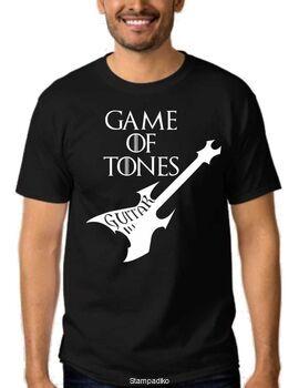 Μπλουζάκι,φούτερ κουκούλα & φούτερ χωρίς κουκούλα με στάμπα guitar Games of Tones