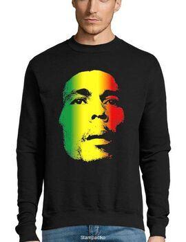 Μπλούζα Φούτερ με στάμπα Bob Marley Retro