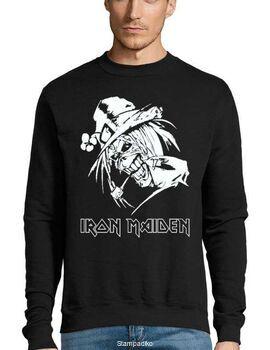Μπλούζα Φούτερ με στάμπα Iron Maiden Leprechaun