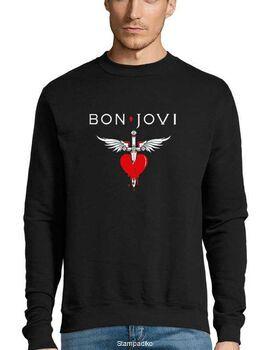 Μπλούζα Φούτερ με στάμπα Bon Jovi You Give Love A Bad Name