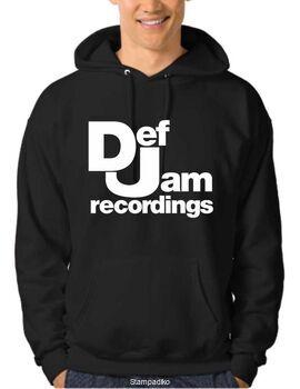 Μπλουζάκι,φούτερ κουκούλα & φούτερ χωρίς κουκούλα με στάμπα Def Jam Recordings