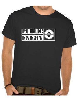 Μπλουζάκι,φούτερ κουκούλα & φούτερ χωρίς κουκούλα με στάμπα Public Enemy