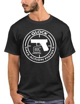 Μπλουζάκι,φούτερ κουκούλα & φούτερ χωρίς κουκούλα με στάμπα Glock