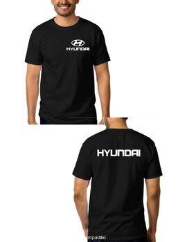 Μπλούζα αυτοκινήτου με στάμπα HYUNDAI