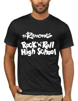 Rock t-shirt με στάμπα Ramones Rock And Roll High School