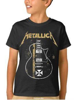 Παιδικό μπλουζάκι με στάμπα Metallica James Hetfield Gibson Guitar