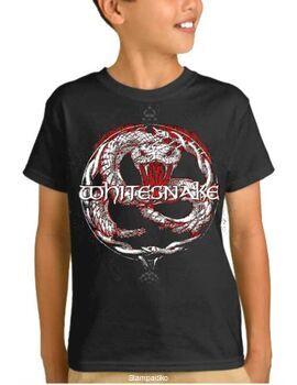 Παιδικό μπλουζάκι με στάμπα Whitesnake Back To The Bone