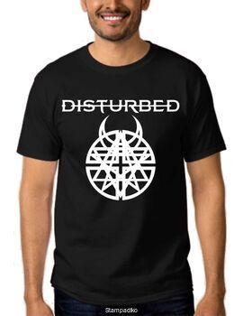 Μπλουζάκι Rock Metal T-shirt με στάμπα Disturbed
