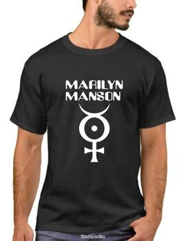 Μπλουζάκι,φούτερ κουκούλα & φούτερ χωρίς κουκούλα με στάμπα Marilyn Manson