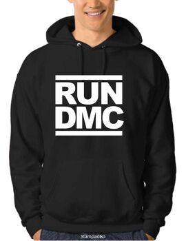 Μπλουζάκι,φούτερ κουκούλα & φούτερ χωρίς κουκούλα με στάμπα Run-DMC