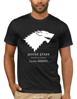Μπλουζάκι,φούτερ κουκούλα & φούτερ χωρίς κουκούλα με στάμπα Games of Thrones  House Stark