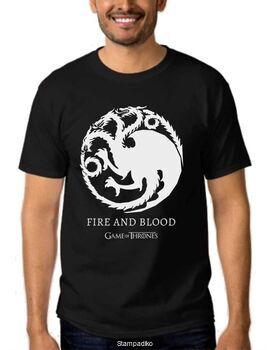 Μπλουζάκι,φούτερ κουκούλα & φούτερ χωρίς κουκούλα με στάμπα Games of Thrones House Targaryen