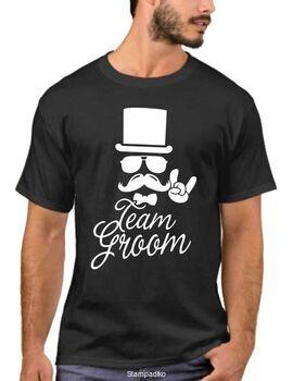 Μπλουζάκι με στάμπα Team Groom