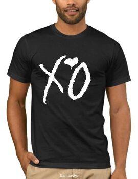 Μπλουζάκι,φούτερ κουκούλα & φούτερ χωρίς κουκούλα με στάμπα The Weeknd XO