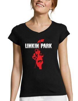 Γυναικείο V Rock t-shirt με στάμπα Linkin Park