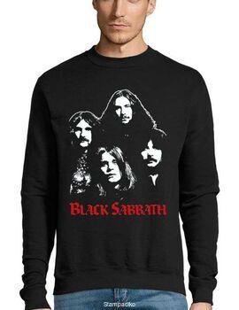 Μπλούζα Φούτερ με στάμπα Black Sabbath