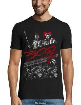 Μπλουζάκι με στάμπα Never Retreat Never Surrender 300
