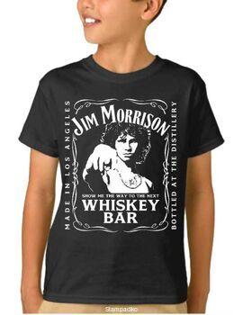 Παιδικό μπλουζάκι με στάμπα Jim Morrison The Doors Show Me Next Whiskey Bar