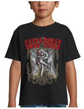 Παιδικό μπλουζάκι με μεταξοτυπία Guns N' Roses Sketched Cherub