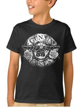 Παιδικό μπλουζάκι με στάμπα Guns N Roses