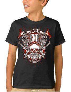 Παιδικό μπλουζάκι με στάμπα Guns N Roses Destruction