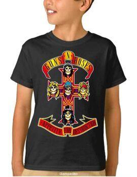 Παιδικό μπλουζάκι με στάμπα Guns N Roses Appetite For Destruction