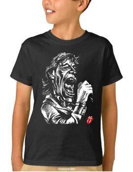 Παιδικό μπλουζάκι με στάμπα Rolling Stones Mick Jagger