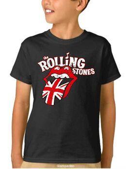 Παιδικό μπλουζάκι με στάμπα Rolling Stones Distressed UK Tongue T-Shirt