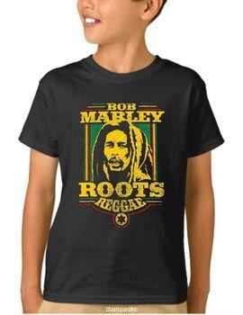 Παιδικό μπλουζάκι με στάμπα Bob Marley Roots Reggae