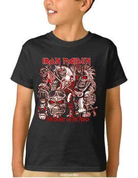 Παιδικό μπλουζάκι με στάμπα Iron Maiden The Best On The Road