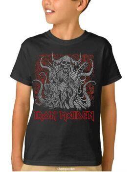 Παιδικό μπλουζάκι με στάμπα Iron Maiden Eddie