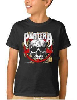 Παιδικό μπλουζάκι με στάμπα Pantera Cowboys from Hell CFH Skull