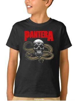Παιδικό μπλουζάκι με στάμπα Pantera Snake