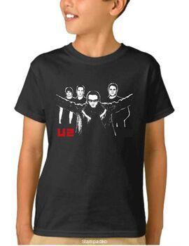 Παιδικό μπλουζάκι με στάμπα U2 The Band