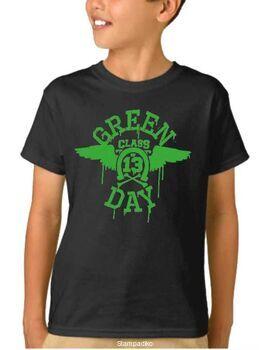 Παιδικό μπλουζάκι με στάμπα Green Day class of 13