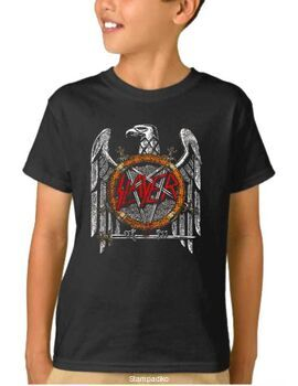 Παιδικό μπλουζάκι με στάμπα Slayer Silver Eagle