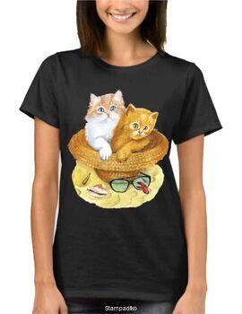 Μπλούζα t-shirt Cute Cat