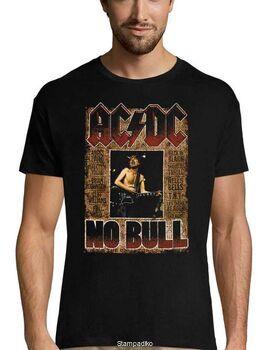 Rock t-shirt με στάμπα AC/DC No Bull