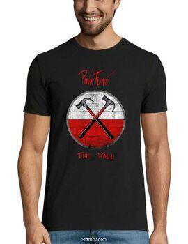Rock t-shirt με στάμπα Pink Floyd  The Wall Hammer Album Active T-Shirt