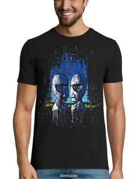 Rock t-shirt με στάμπα Pink Floyd Division Bell Drip