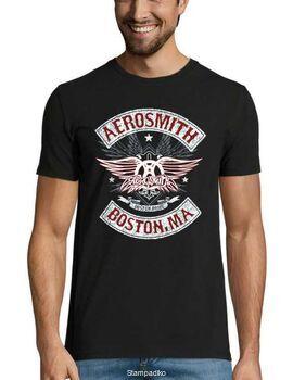 Rock t-shirt με στάμπα Aerosmith Boston Pride