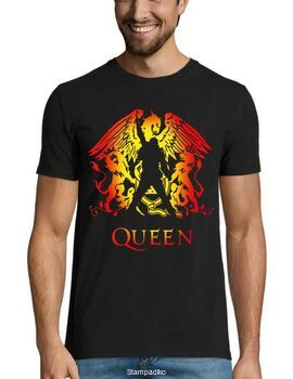 Rock t-shirt με στάμπα Queen New Vintage Band